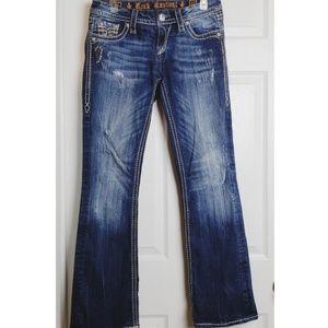 Rock revival women Jean's size 27